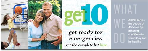 Get ready for emergencies, get the complete list