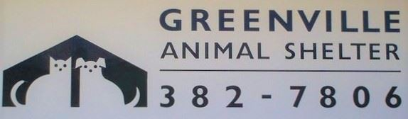 Greenville Animal Shelter Sign