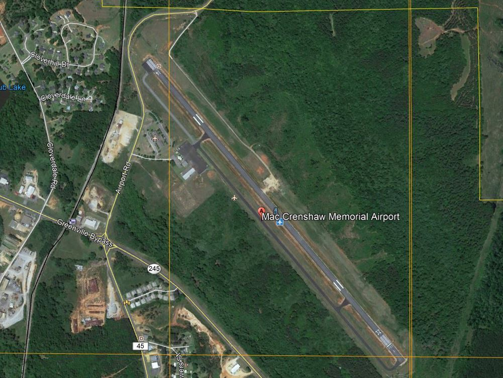 Google Earth Airport View